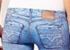 Le legging imprimé jean de Diesel