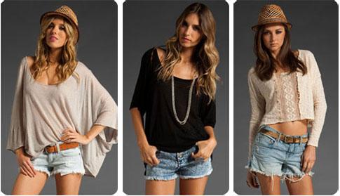 Le short en jean, grande tendance de l'été 2011