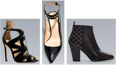 Chaussures Zara printemps-été 2013