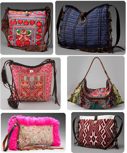 Mais assez discuté, voyez plutôt, quelques jolis modèles de sacs ...