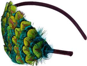 Serre-tête à plumes Pluma