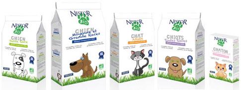 Croquettes bio pour chiens et chats Nestor Bio