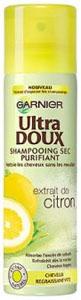 Shampooing sec Ultra Doux Garnier