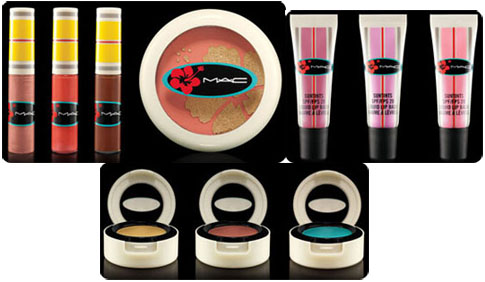 Maquillage MAC, été 2011, collection Surf, Baby!