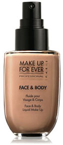 Fluide pour visage et corps, Make Up For Ever