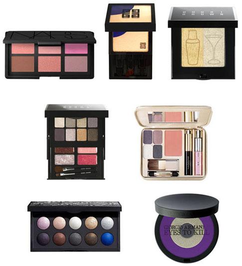 Palettes maquillage Noël 2011