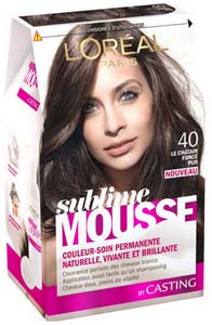Coloration Sublime Mousse de L'Oréal