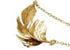Bijoux or et plumes Alex Monroe