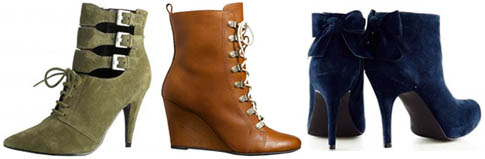 Bottines 3 Suisses, collection automne-hiver 2010-2011