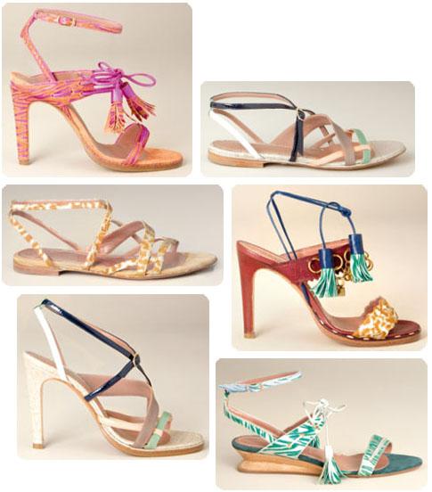 Chaussures Vanessa Bruno printemps-été 2011