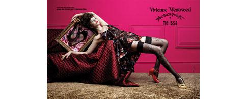 collaboration Melissa et Vivienne Westwood