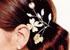 Des bijoux dans les cheveux
