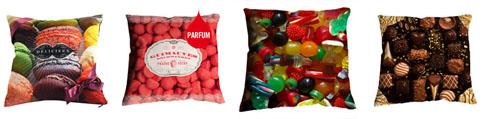 coussins bonbons