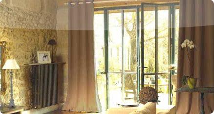 Doublures thermiques pour rideaux Moon Dream
