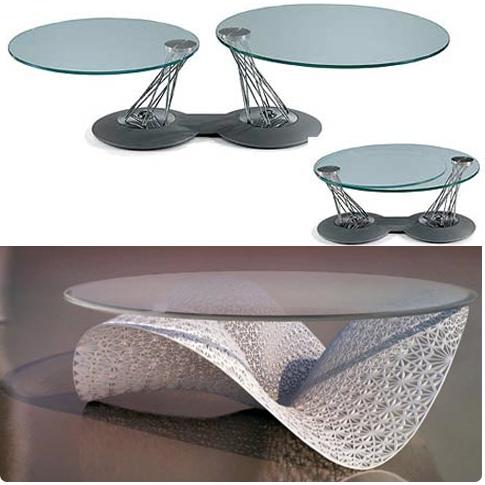 tables basses artistiques