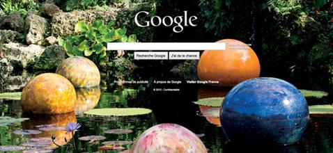 Page d'accueil Google personnalisable