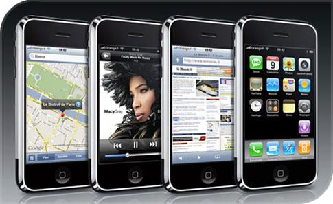 L' ardoise d'Apple ...L'iPad Iphone-orange