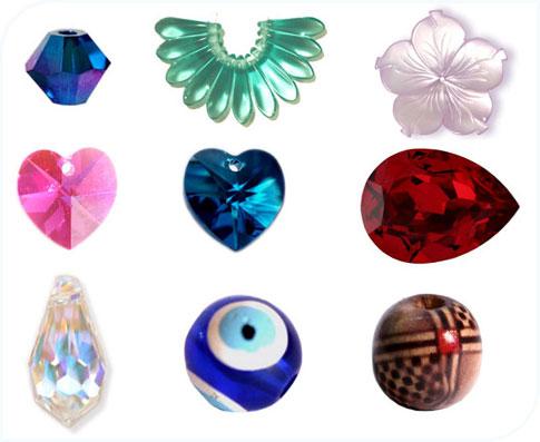 Sélection de perles sur Créatis