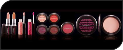 maquillage d'automne Mac et Emanuel Ungaro