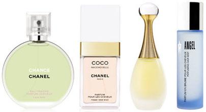 Parfums pour les cheveux
