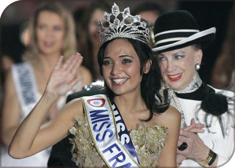 Valérie Begue est élue Miss France 2007