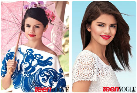 Selena Gomez pour Teen Vogue