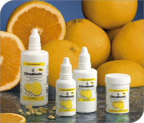 La gamme citrobiotic