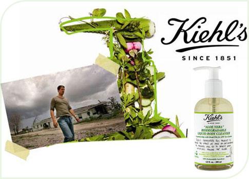 nettoyant pour le corps Kiehl's 100% écologique