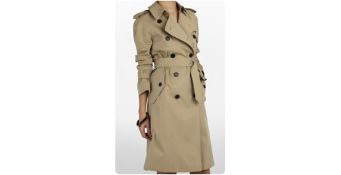 Trench coat Burberry : look British assuré !
