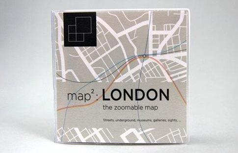 map² la carte de Londres zoomable