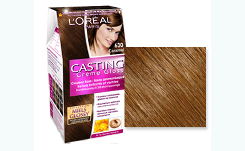 coloration miel glossy caramel - Coloration Chatain Caramel