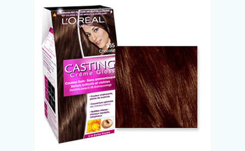 Coloration caramel affordable coloration coloration - Coloration chocolat caramel ...