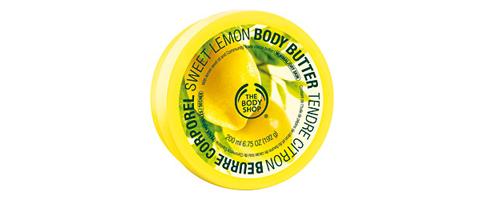 beurre corporel au citron