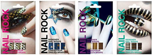 Kits faux ongles décorés, Nail Rock