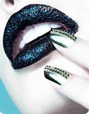 Accessoires beauté pour les fêtes, image Nail rock