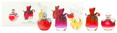 Miniatures de parfum Nina Ricci