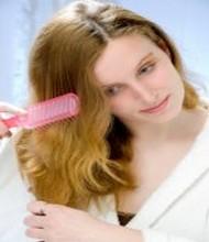 brossage de cheveux