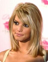 coiffure femme meche blonde