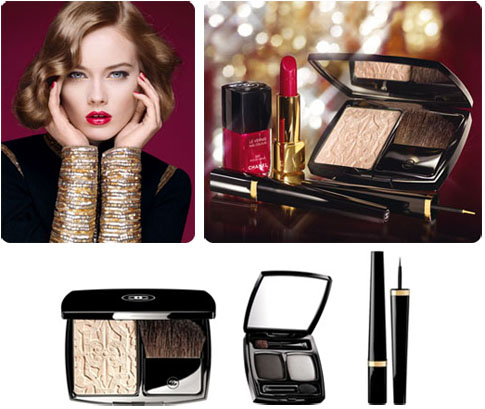 Maquillage Les Scintillantes, Noël 2011 Chanel