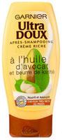 Après-shampooing crème riche Ultra Doux, Garnier