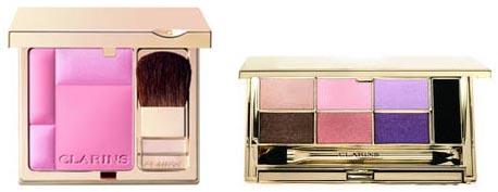 Blush Prodige et palette Neo Pastels Clarins
