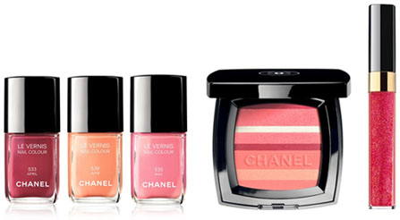 Maquillage Chanel printemps 2012