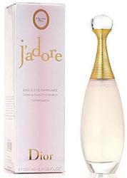 Eau d'été parfumée J'adore Dior
