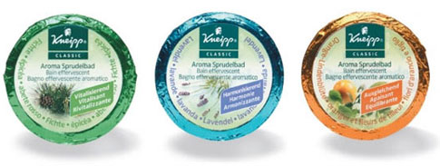 Galets effervescents Kneipp