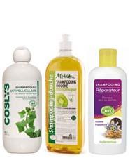 Choisir un bon shampoing bio