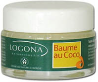 Baume au coco Logona