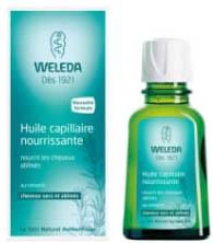 Huile capillaire nourrissante Weleda