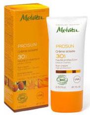 Crème solaire bio Melvita Prosun