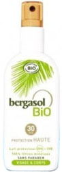 Lait solaire Bergasol Bio