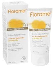 Crème solaire bio Florame